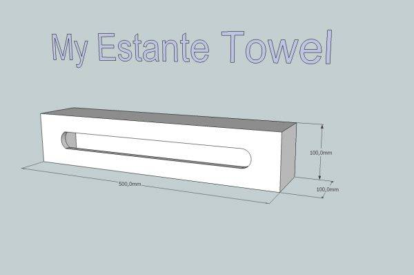 My Estante Towel solid surface
