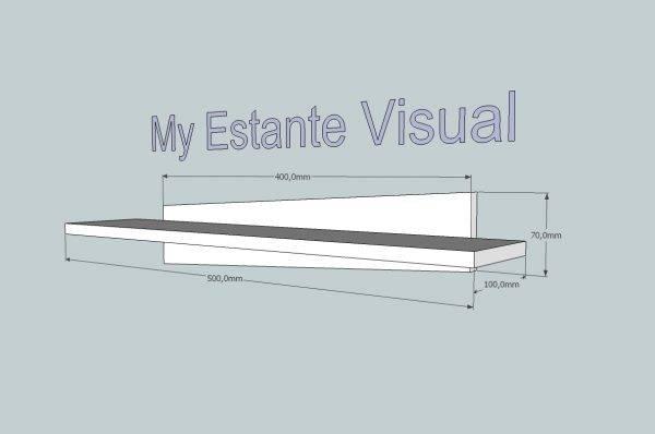 My Estante Visual solid surface