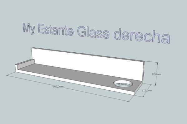 My Estante Glass Derecha