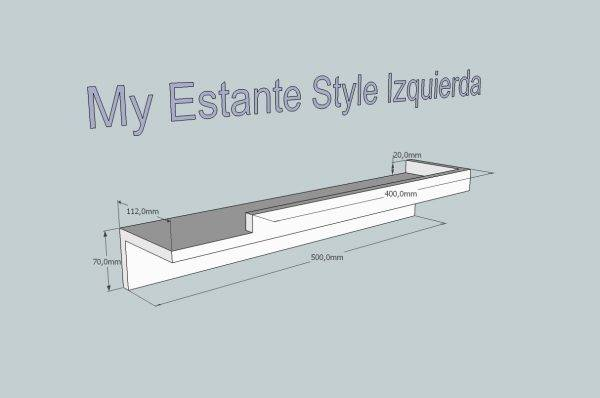 My Estante Style izquierda
